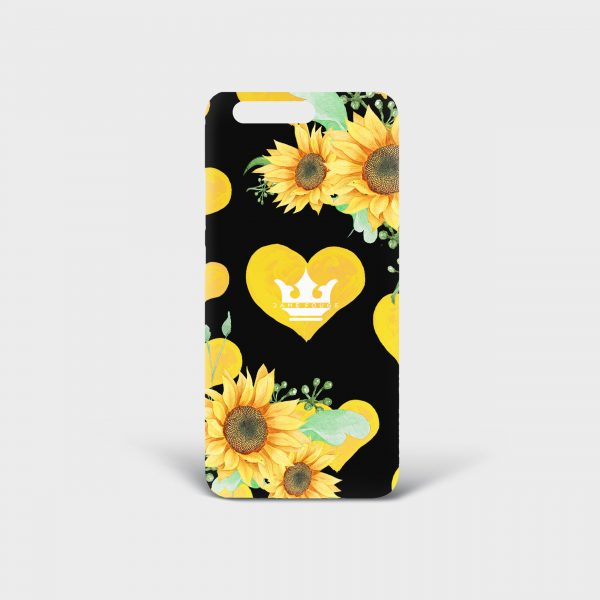Cover Huawei Sunflower Dame Rouge