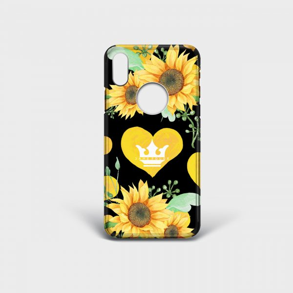 Cover Iphone Sunflower Dame Rouge