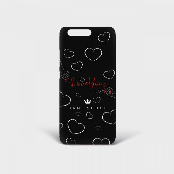 Cover Huawei Red Wire Dame Rouge