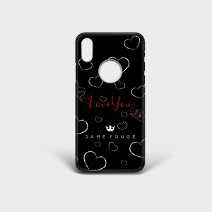 Cover Iphone Red Wire Dame Rouge