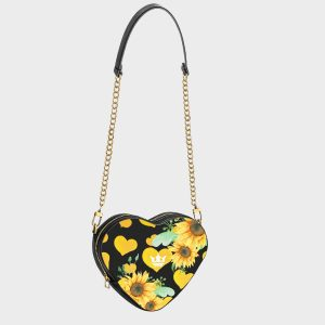 Heart Shape Bag Sunflower Dame Rouge
