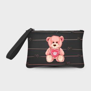 Pochette Smash Teddy Bear Dame Rouge