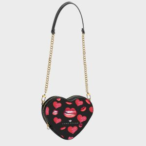 Heart Shape Bag kiss Me Dame Rouge