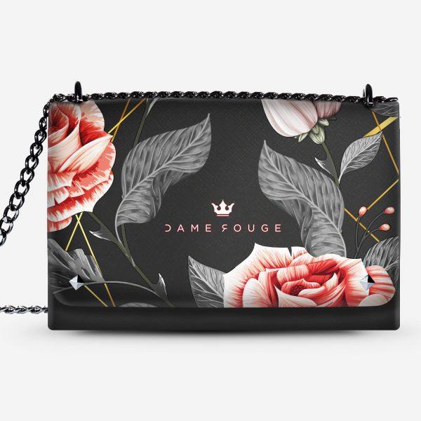 Lovely Bag Vintage Rose Dame Rouge