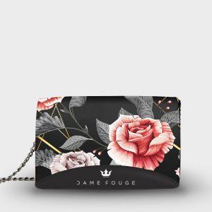 Moon bag Vintage Rose Dame Rouge
