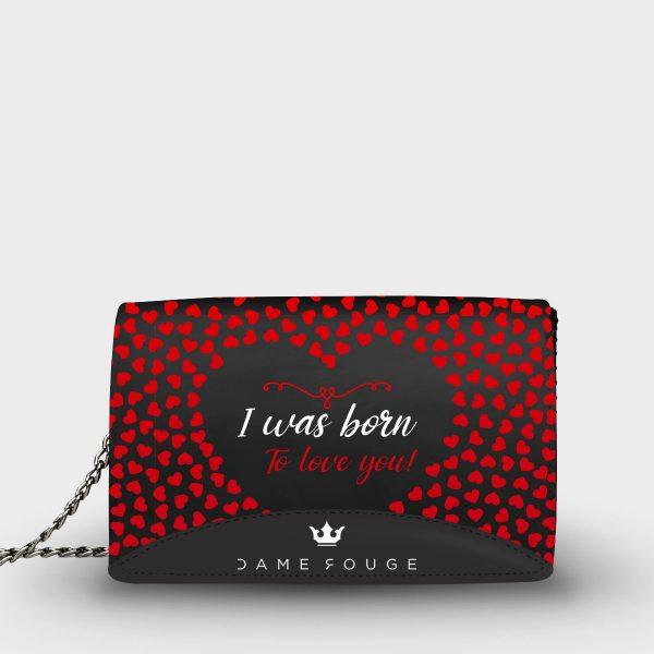 Moon Bag Romance Dame Rouge