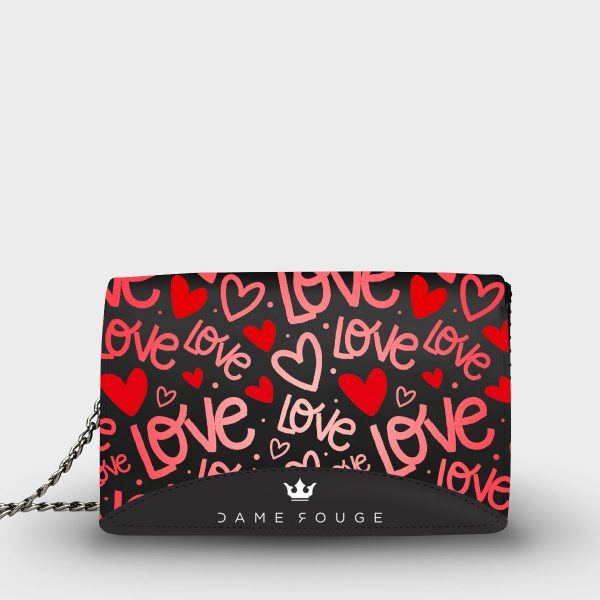 Moon Bag Red Passion Dame Rouge