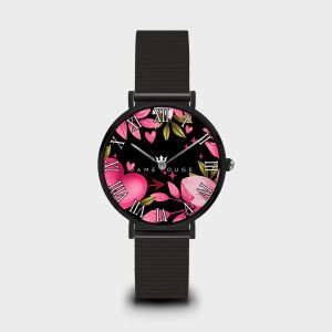 Orologio Pink Heart Dame Rouge