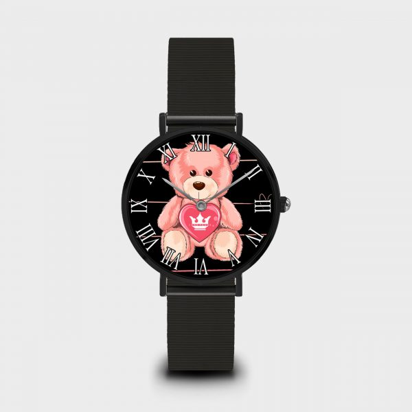 Orologio Teddy Bear Dame Rouge