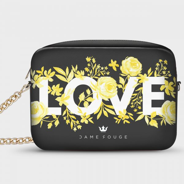 Borsetta Smart Flowers Love Dame Rouge