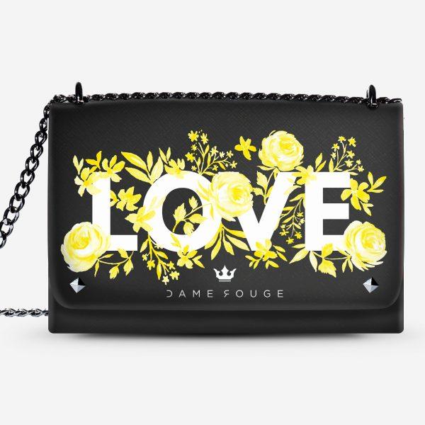 Lovely Bag Flowers Love Dame Rouge