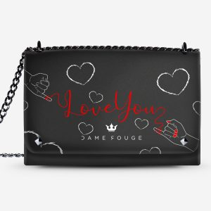 Lovely Bag Red Wire Dame Rouge