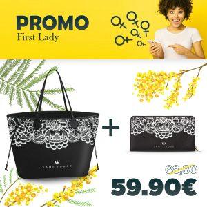 Combo Princess Bag + Portafoglio Lace