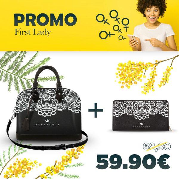 Combo Soul Bag + Portafoglio Lace