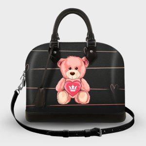 Soul Bag Teddy Bear Dame Rouge