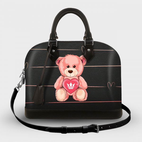 Soul Bag Teddy Bear Dame Rouge