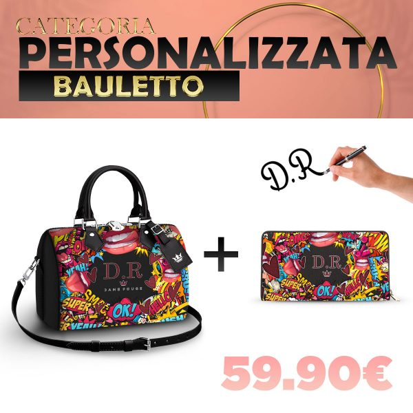 Set Bauletto + Portafoglio Personalizzato Xoxo