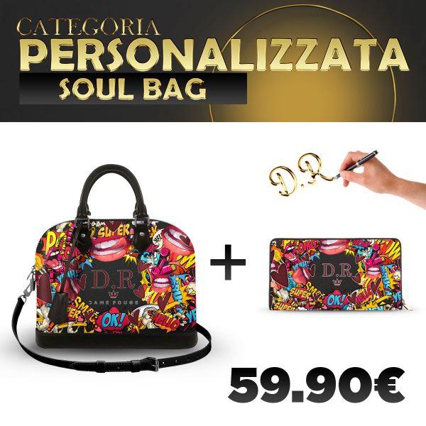 Set Soul Bag + Portafoglio Personalizzato Xoxo