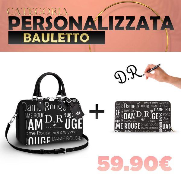 Set Bauletto + Portafoglio Personalizzato Multi Dame
