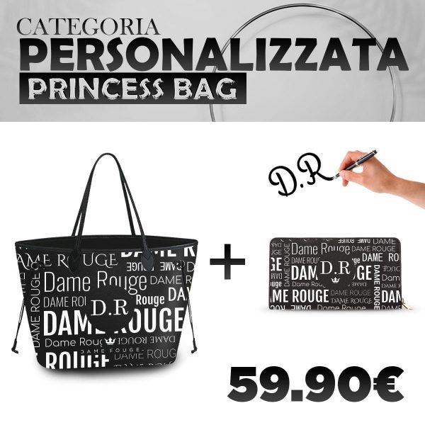 Set Princess Bag + Portafoglio Personalizzato Multi Dame