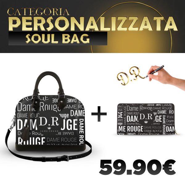 Set Soul Bag + Portafoglio Personalizzato Multi Dame