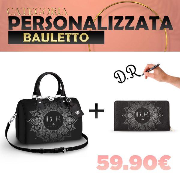 Set Bauletto + Portafoglio Personalizzato Silver