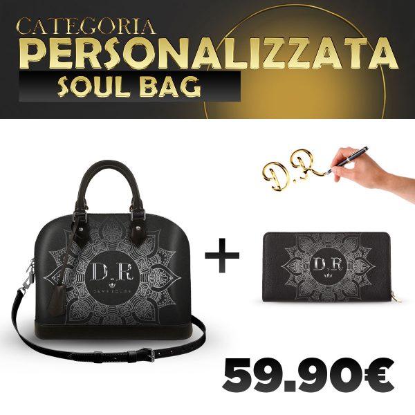 Set Soul Bag + Portafoglio Personalizzato Silver