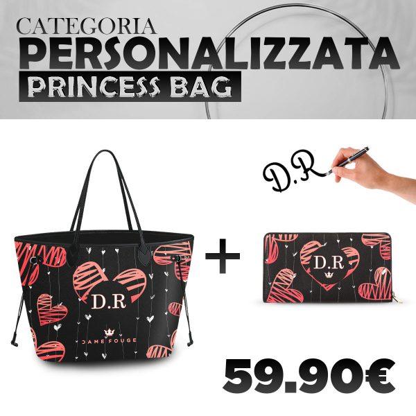 Set Princess Bag + Portafoglio Personalizzato Love Of mY Life