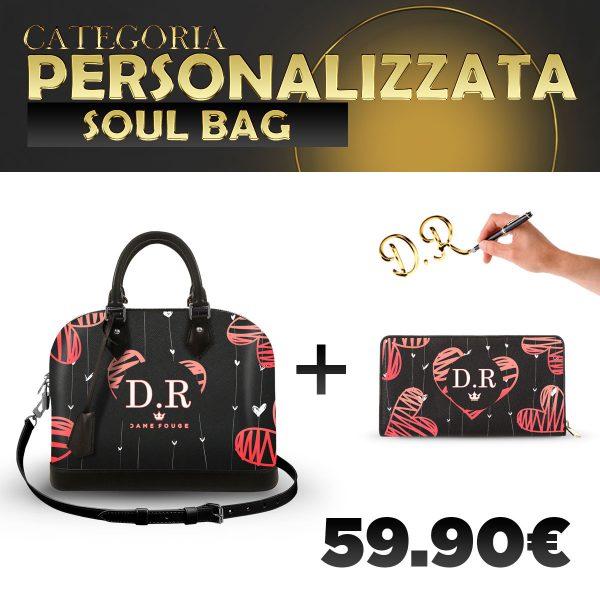 Set Soul Bag + Portafoglio Personalizzato Love Of My Life