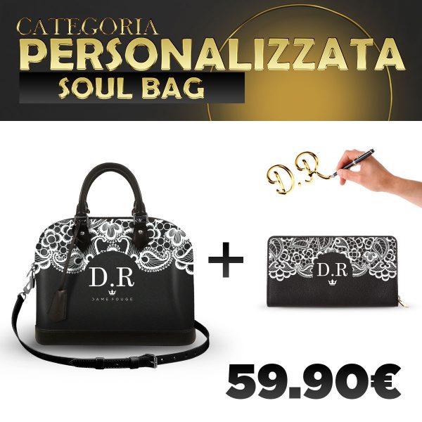 Set Soul Bag + Portafoglio Personalizzato Lace