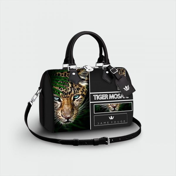 Bauletto Tiger Mosaic Dame Rouge