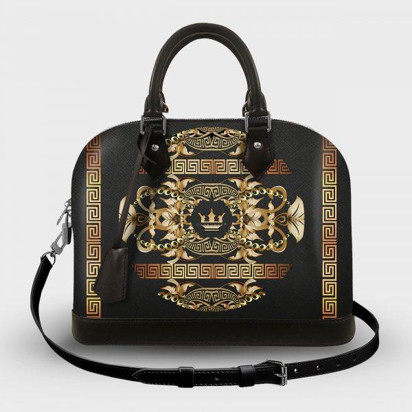 Soul Bag Golden Barocco Dame Rouge