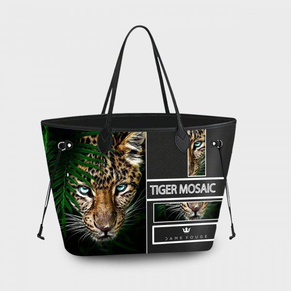 Princess Bag Tiger Mosaic Dame Rouge