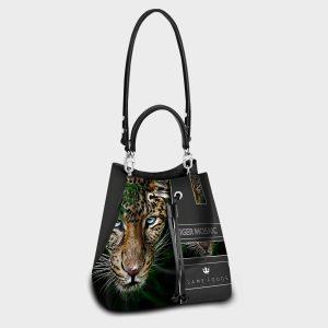 Secchiello Tiger Mosaic Dame Rouge