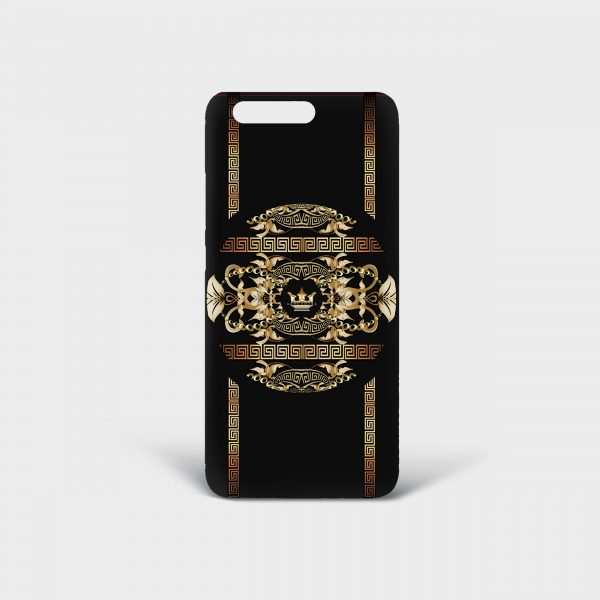 Cover Huawei Golden Barocco Dame Rouge