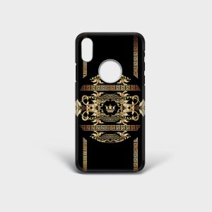 Cover Iphone Golden Barocco Dame Rouge