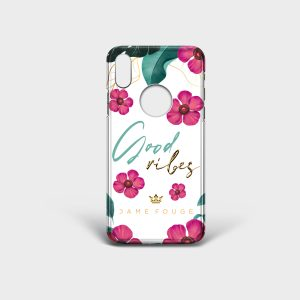 Cover Iphone Good Vibes Dame Rouge