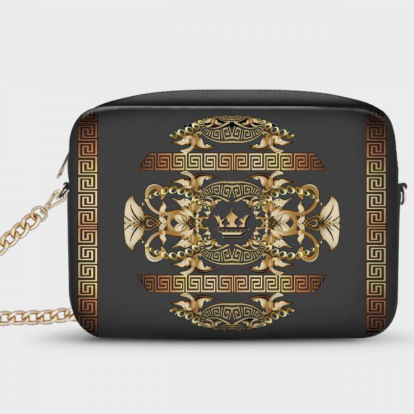 Borsetta Smart Golden Barocco Dame Rouge