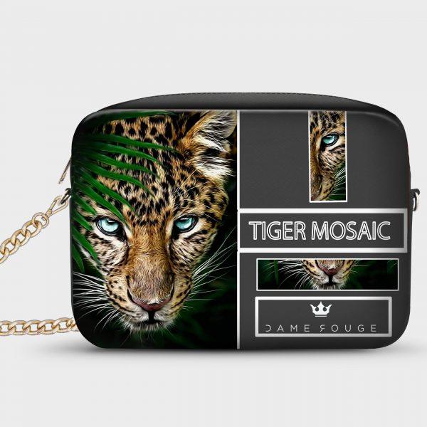 Borsetta Smart Tiger Mosaic Dame Rouge