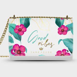 Lovely Bag Good Vibes Dame Rouge