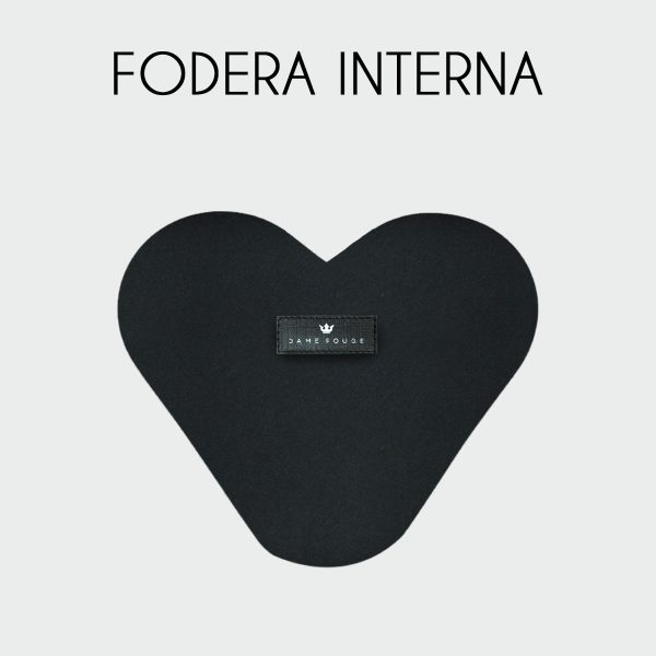 Fodera Heart Shape Bag
