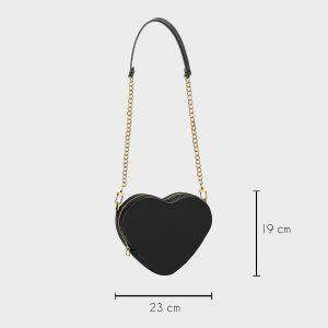 Misure Heart Shape Bag