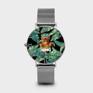 Metal Watch Tropical King Dame Rouge