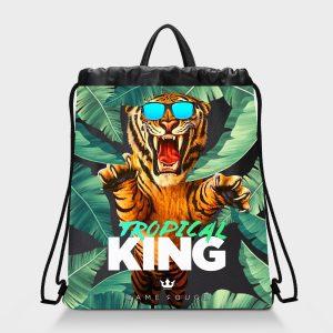 Zaino Squeeze Tropical King Dame Rouge
