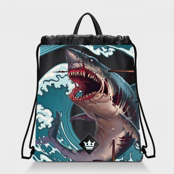 Zaino Squeeze Monster Shark Dame Rouge