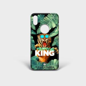 Cover Iphone Tropical King Dame Rouge