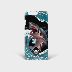 Cover Huawei Monster Shark Dame Rouge