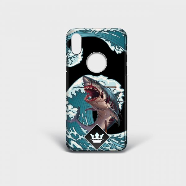 Cover Iphone Monster Shark Dame Rouge