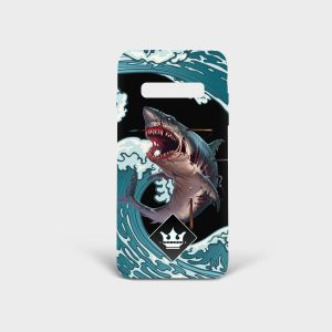 Cover Samsung Monster Shark Dame Rouge