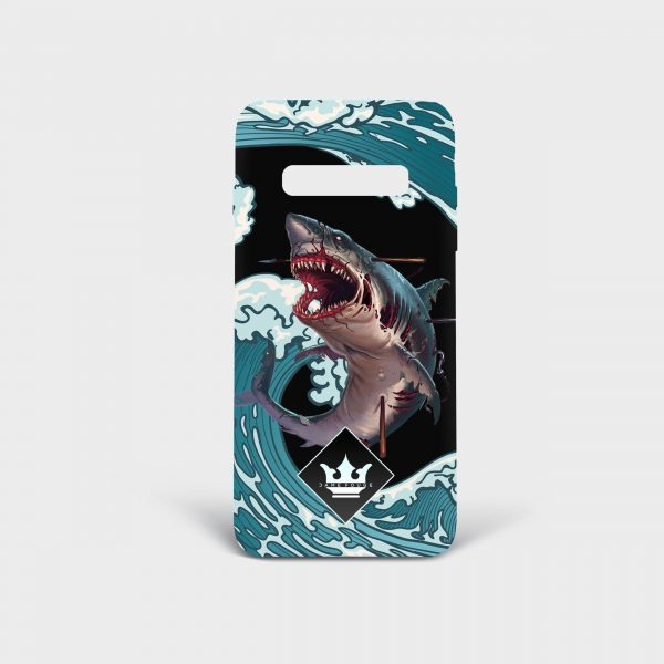 Cover Samsung Monster Shark Dame Rouge